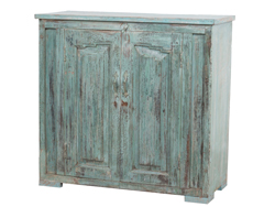 Closed cabinet blue 17029