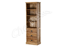 Bookcase capri met laden