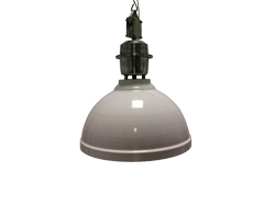 Industrie lamp Clinton wit
