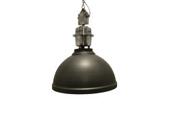 Industrie lamp Clinton antraciet