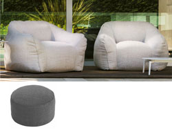 Pouf Moon rond groot