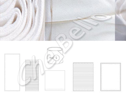 Placemat clear white